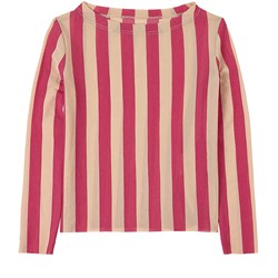 Little Creative Factory Playground T-Shirt Candy Pink Stripe