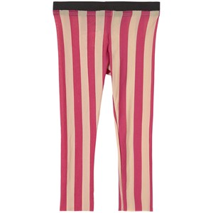 Image of Little Creative Factory Playground Stripe Leggings Candy Pink Stripe 6 år (1860318)