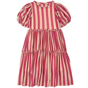 Image of Little Creative Factory Playground Fairy Kjole Candy Pink Stripe 12 år (1860211)