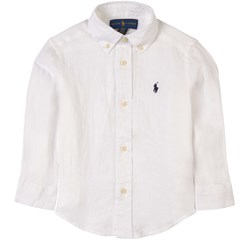 Ralph Lauren Pony Oxford Shirt White