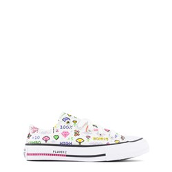 Converse Gamer Chuck Taylor All Star OX Sneakers White