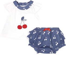 Mayoral Cherry Outfit Navy