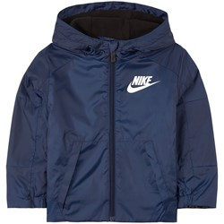 NIKE Logo Windbreaker Navy