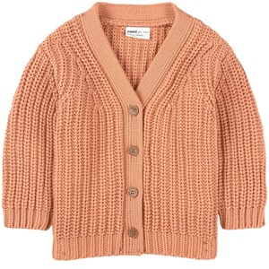 Image of Maed for Mini Bumpy Butterfly Cardigan Beige 1 år (1836033)