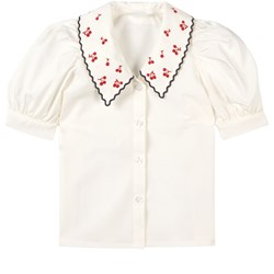 Maed for Mini Sloppy Swan Blus Vit