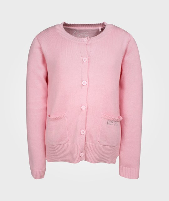 Guess LS Cardigan Pink Pink