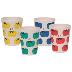 Bobo Choses Tomatoes Pack Of Bamboo Glasses