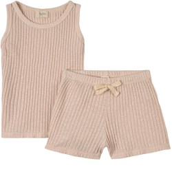 búho Summer Pyjama Set Rose