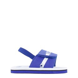 BOSS Branded Slide Sandals Blue