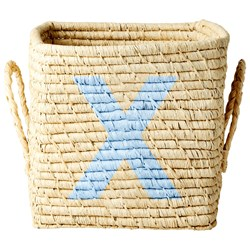 Rice Raffia Square Basket – X
