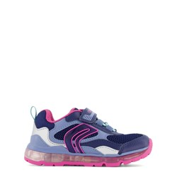 Geox Android Light Up Sneakers Navy