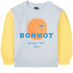 Bonmot Organic Enjoy Sweatshirt Sunshine Yellow