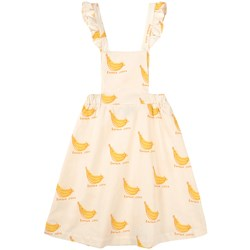 Bonmot Organic Dress Braces Banana Siesta Ivory