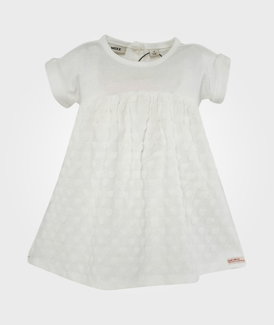 Mexx Baby Girls Dress Cut & Sew Knit C&S Paper White