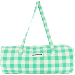Bobo Choses Gingham Bag Green