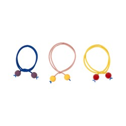 Bobo Choses 3-Pack Hair Elastics Multicolor