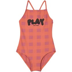 Bobo Choses Play Vichy Swimsuit Pink