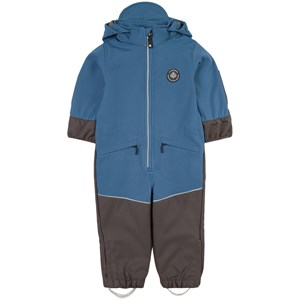 Image of Gullkorn Design Munter Softshell-overall Soft Blue 104 cm (3-4 år) (1797459)