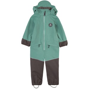 Image of Gullkorn Design Munter Softshell-overall Soft Green 104 cm (3-4 år) (1797472)