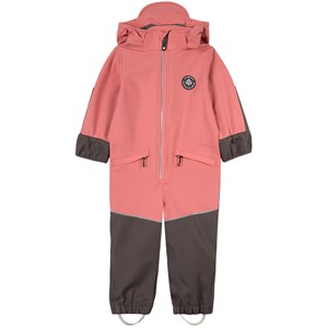 Image of Gullkorn Design Munter Softshell-overall Warm Rose 104 cm (3-4 år) (1797478)