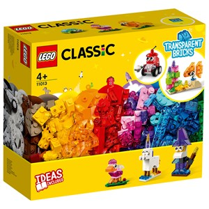 Image of LEGO Classic 11013 LEGO®LEGO Classic Creative Transparent Bricks 4+ years (1849122)