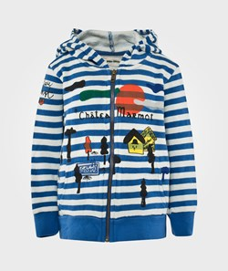 Bobo Choses Hooded Sweatshirt Chateau Blue