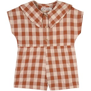 Image of Jellymade Beebe Check Romper Brun 3 år (1806798)
