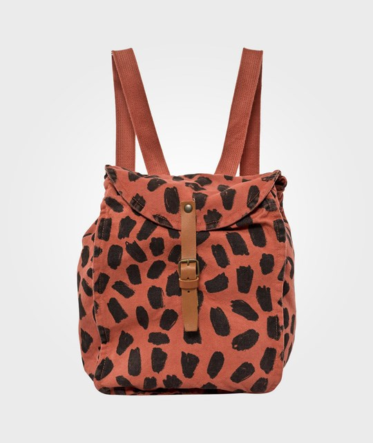 Bobo Choses Schoolbag Leopard Red Red