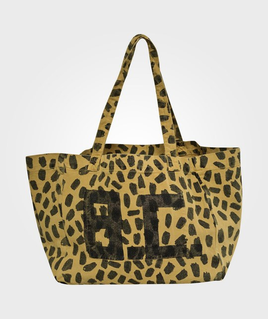 Bobo Choses Tote Mummy Leopard Print Yellow Yellow