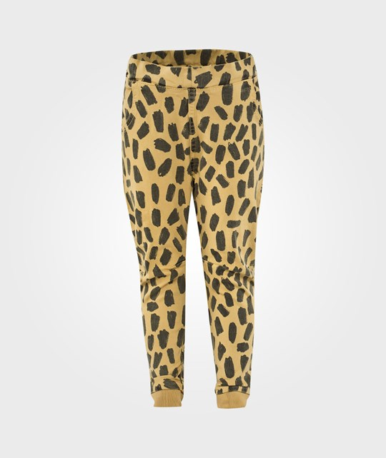 Bobo Choses Semi Baggy Pants Leopard Yellow Yellow