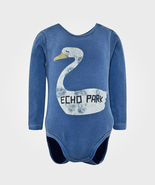 Bobo Choses LS Body Echo Blue Blue