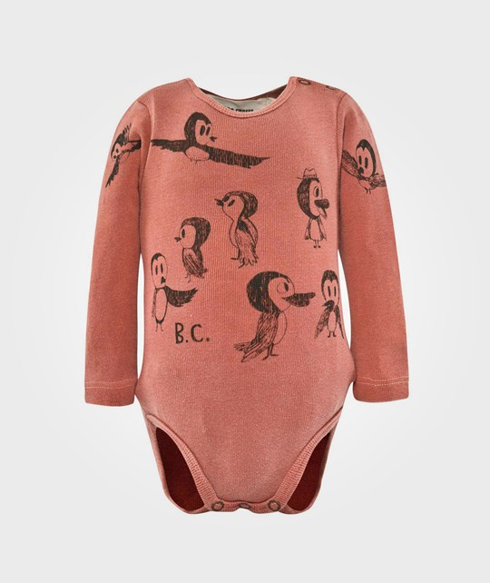 Bobo Choses LS Body Birds Red Red