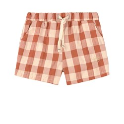 Jellymade Baltic Check Shorts Brune
