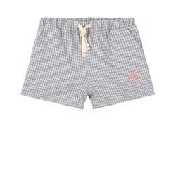 Jellymade Baltic Check Shorts Blue