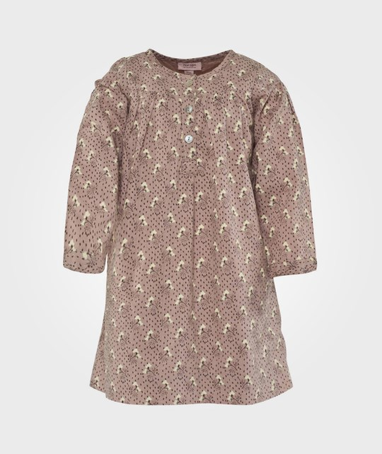 Noa Noa Miniature Dress Long Sleeve, Blush Pink