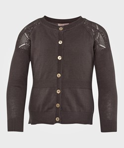 Noa Noa Miniature Cardigan,Long Sleeve Light Caviar