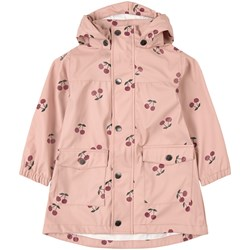 Kuling Manchester Recycled Rain Jacket Pink Cherry
