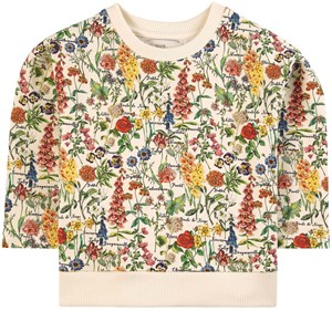 Image of The Middle Daughter Homey Cotton Printed Sweatshirt Botanical 4 år (1874773)