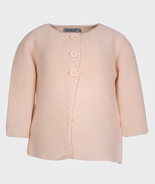 Wheat Cardigan Isabell Peachpop Pink