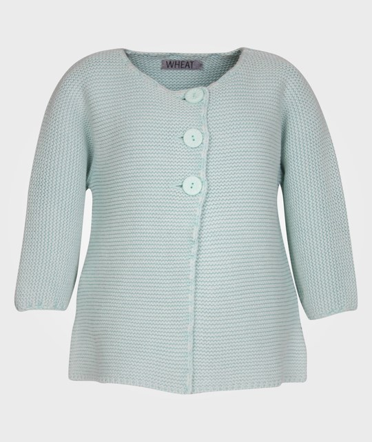 Wheat Cardigan Isabell Mint Green