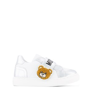 Image of Moschino Kid-Teen Logo Sneakere Hvide 22 (UK 5) (1839056)