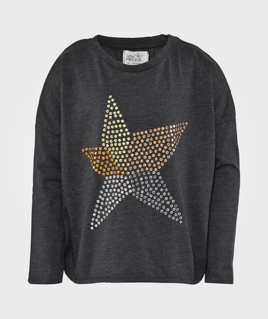 Little Pieces Little Star LS Top Antracit Black