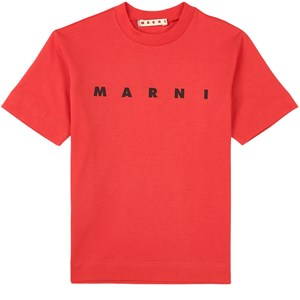 Image of Marni Branded T-shirt Rød 6 år (1744208)