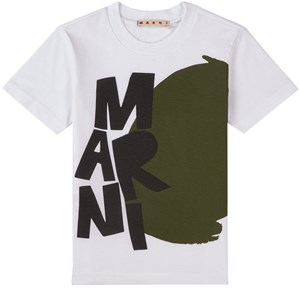 Image of Marni Branded T-shirt Hvid 12 år (1744277)
