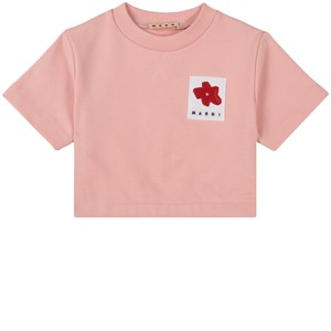 Image of Marni Branded Cropped Sweatshirt Lyserød 6 år (1744389)