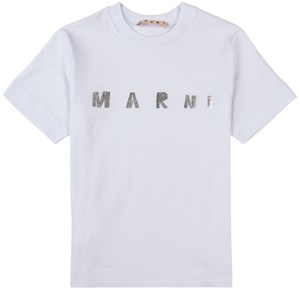 Image of Marni Branded T-shirt Hvid 4 år (1798874)