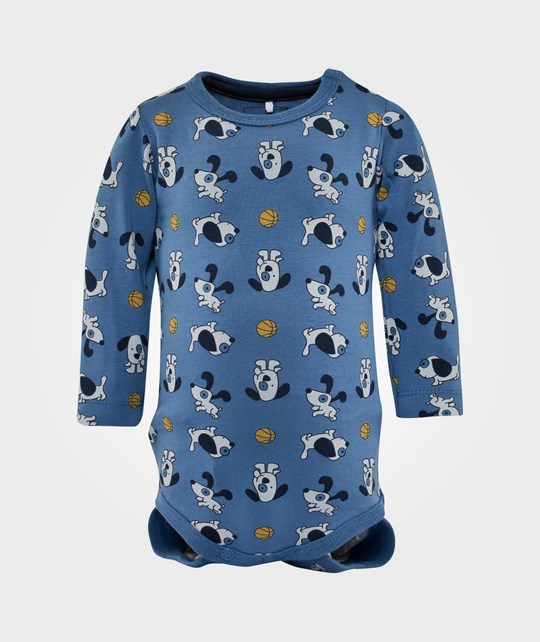 Name it Yums LS Body Federal Blue Blue