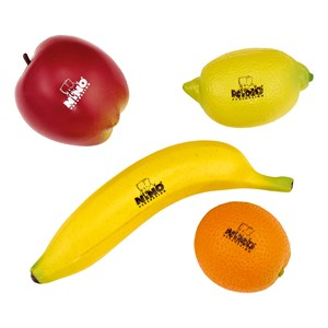 Image of NINO® Percussion Fruit Shaker Assortment 4 Pieces 3+ years (1673837)