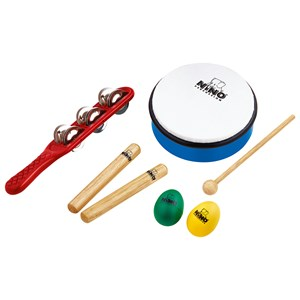 Image of NINO® Percussion Hand Percussion Set 5 Pieces 3+ years (1673828)
