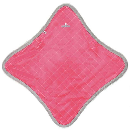 Lodger Wrapper Cotton Rouge Pink